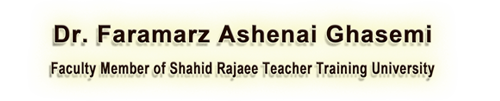 Dr. Faramarz Ashenai Ghasemi